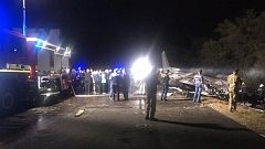 Al menos 25 muertos al estrellarse un avión militar en Ucrania