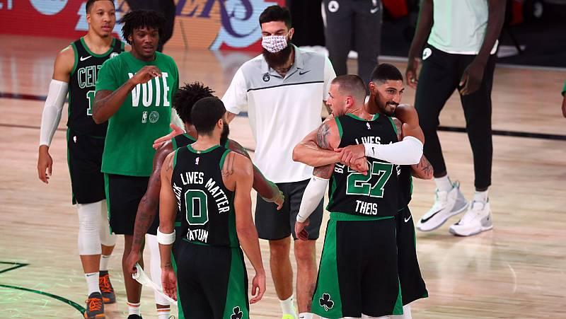 Vídeo: Los Celtics llevan a los Heat al sexto partido con un gran Jayson Tatum