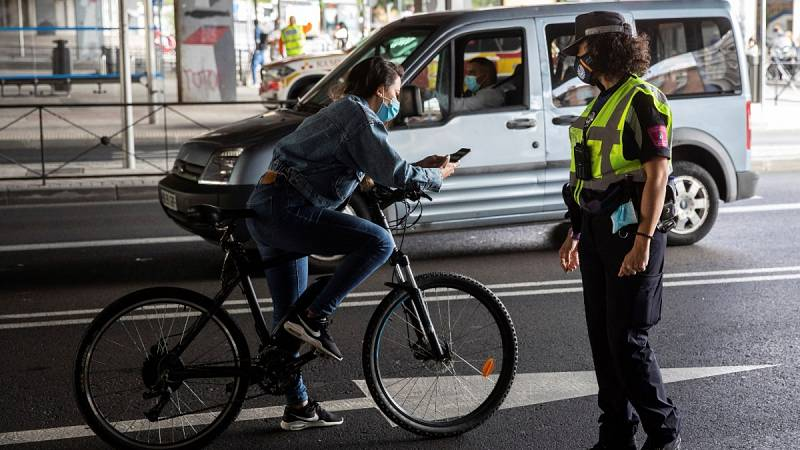 Multas desde 600 euros para los incumplimientos de las restricciones en Madrid