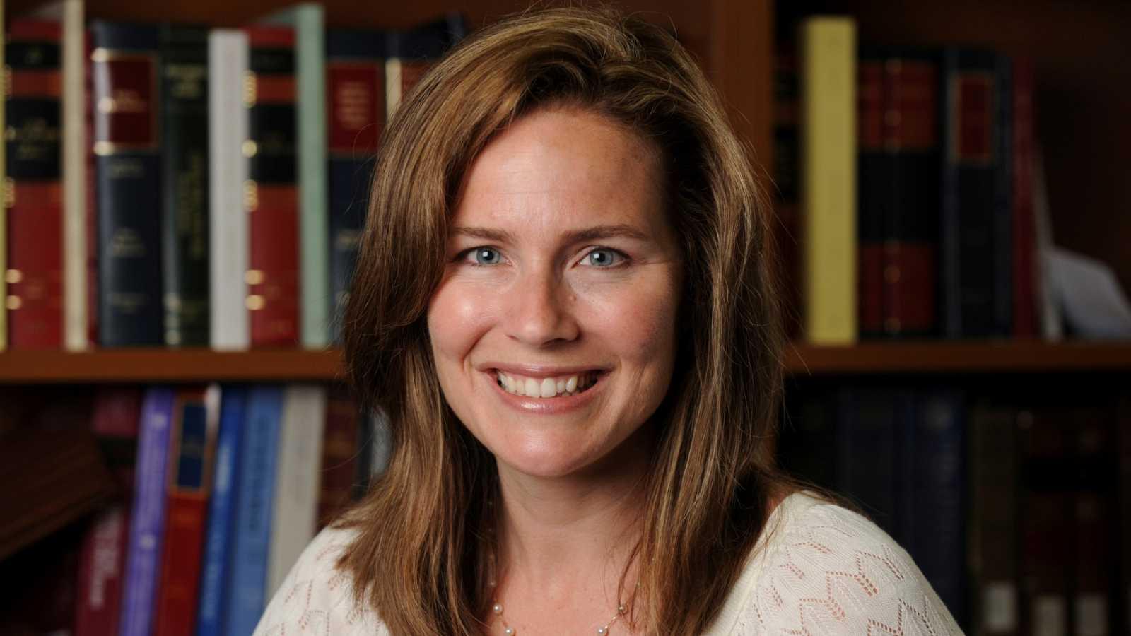 Amy Coney Barrett, la principal candidata al Supremo de EE.UU.