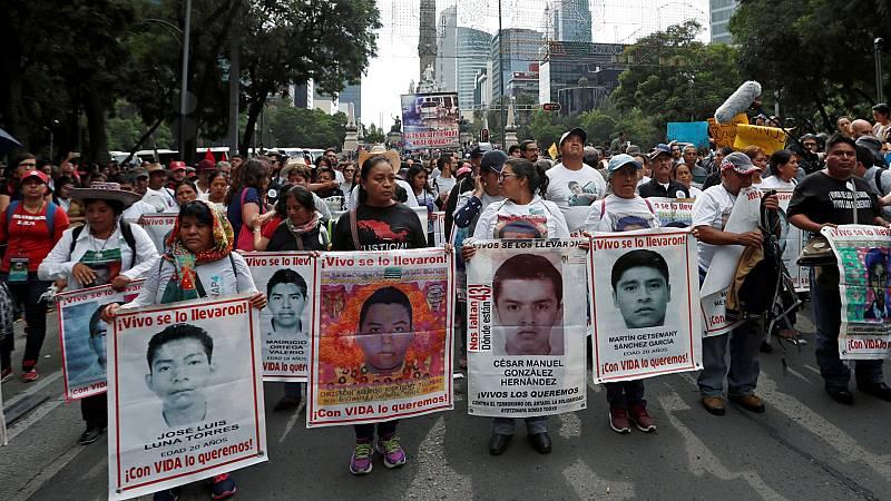 Seis años de la desaparición de los 43 estudiantes de Ayotzinapa