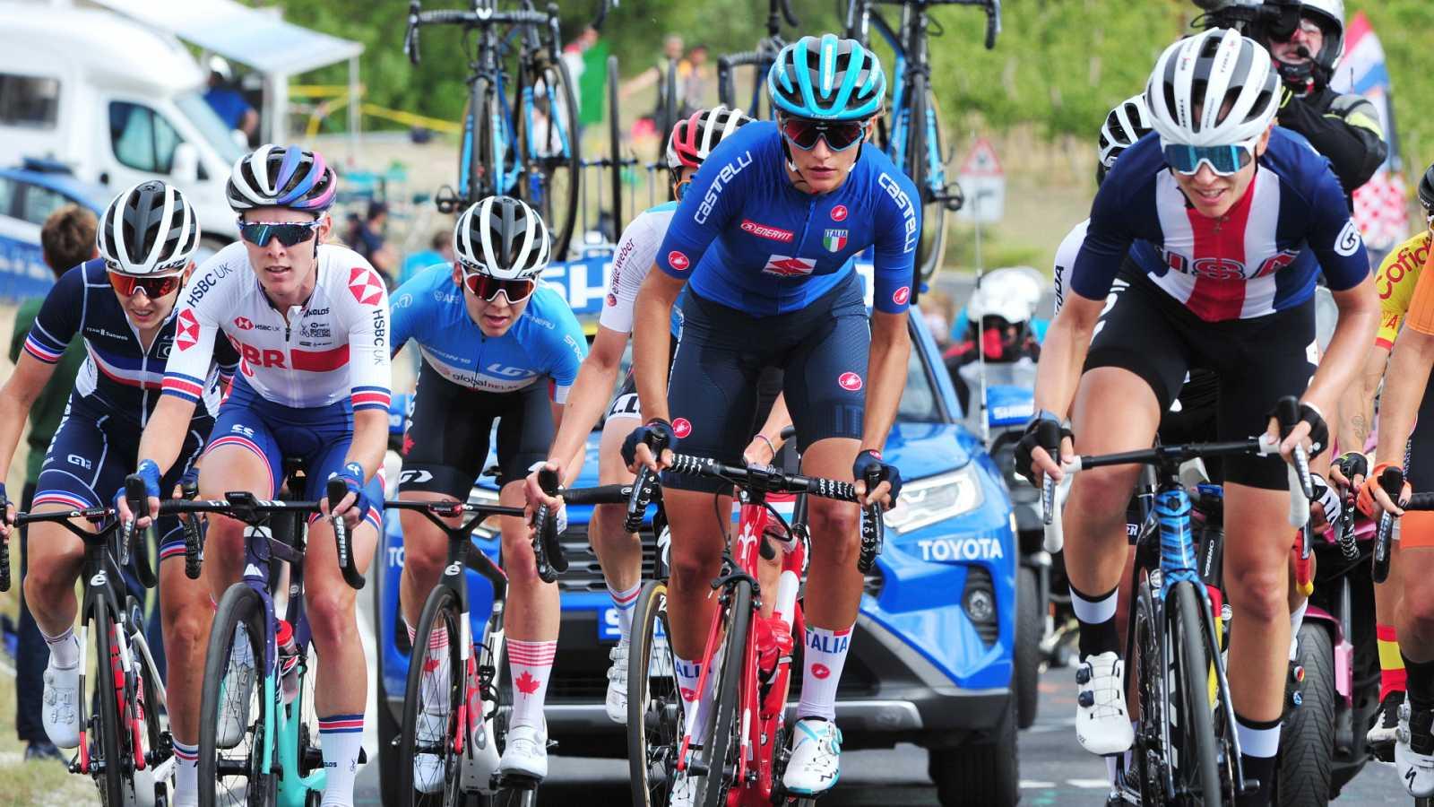 Ciclismo - Campeonato del Mundo en Ruta. Contrarreloj élite femenina (2) - ver ahora