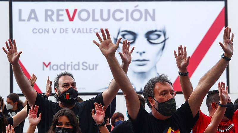 Concentración en Madrid contra las restricciones del Gobierno regional