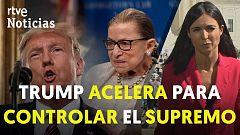 La muerte de la jueza Ginsburg abre la batalla por el control del Supremo en EE.UU.