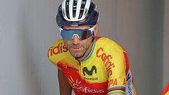 """Alejandro Valverde: """"Hemos estado lo más atentos posible pero al final he pecado de prudente"""""""