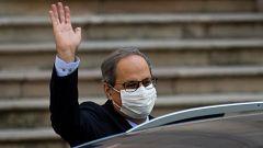 El Supremo inhabilita a Torra por unanimidad como presidente de la Generalitat