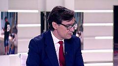 "Salvador Illa: ""Confío en que mañana haya reacción de Madrid"""