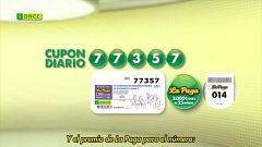 Sorteo ONCE - 28/09/20