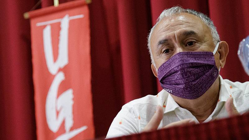 "Álvarez (UGT) sobre la prórroga de los ERTE: ""Espero que esta mañana volvamos a reeditar un acuerdo pleno"""