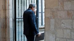 """Torra pide una ley de amnistía para los """"represaliados"""" del Procés"""