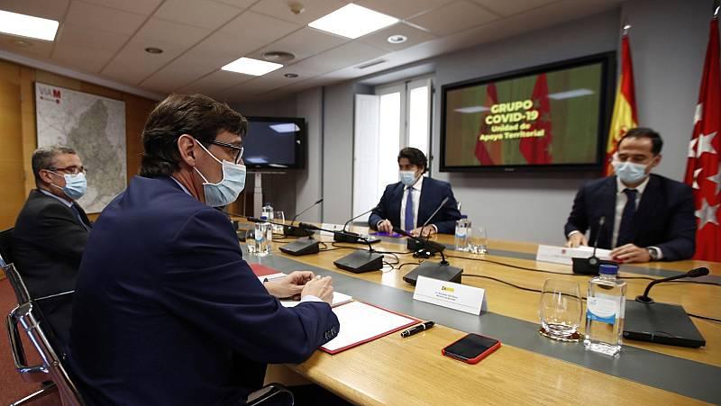 Sanidad y Madrid alcanzan un principio de acuerdo y proponen criterios comunes para las ciudades de España de más de 100.000 habitantes