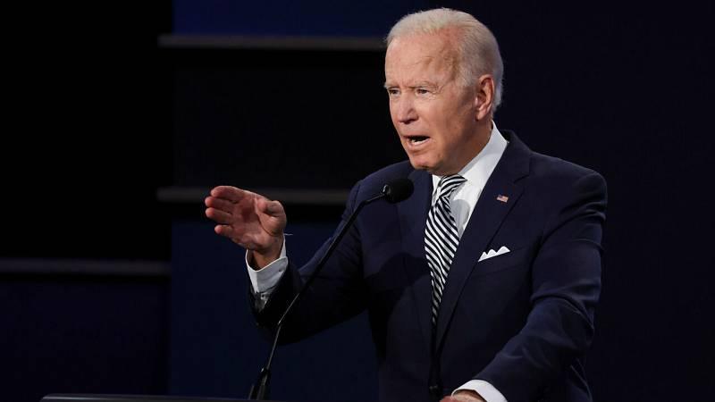 """Biden pierde la paciencia tras las continuas interrupciones de Trump: """"¿Te quieres callar, hombre?"""""""