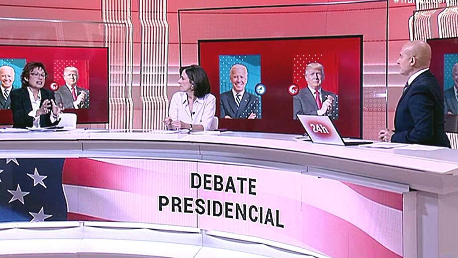 Especial informativo - Post-debate Presidencial EE.UU. - ver ahora