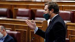 """Espinosa de los Monteros (Vox) a Pablo Iglesias: """"Son un fraude"""""""