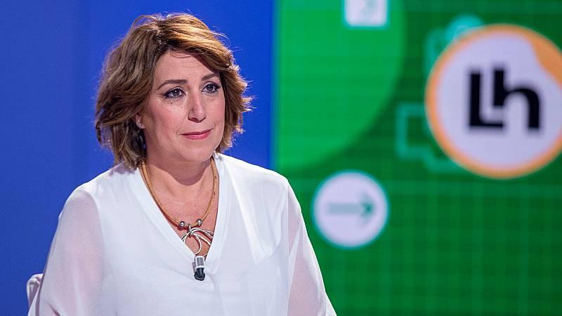 """Díaz, sobre las PCR en Andalucía: """"Somos los terceros en la segunda ola, pero estamos siendo los últimos en PCR"""""""