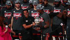 El duelo Adebayo vs LeBron centra la atención de las Finales NBA entre Miami Heat y Los Ángeles Lakers