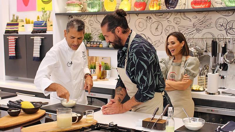 Cocina al punto con Peña y Tamara - Paco Roncero  - ver ahora
