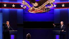 Trump intenta desorientar a Biden en un primer debate caótico y agrio