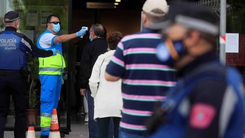 """Escudero, sobre la situación epidemiológica de Madrid: """"Somos conocedores de cuál es y está en una fase estable"""""""