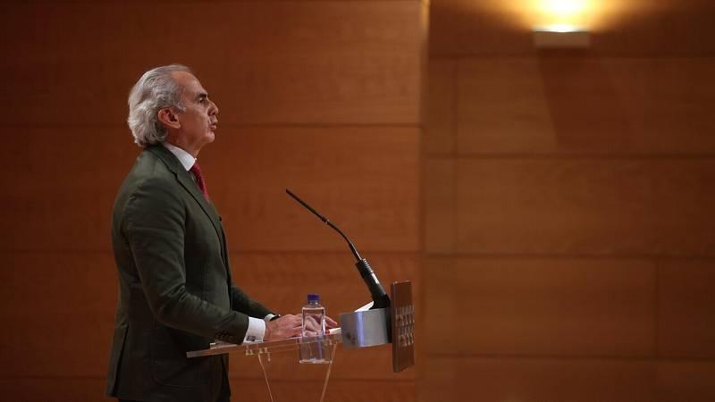 """Escudero, sobre el acuerdo del Consejo Interterritorial: """"Solo ha tenido el apoyo de las comunidades socialistas"""""""