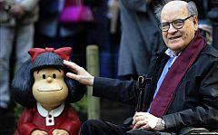 Quino deja huérfana a Mafalda
