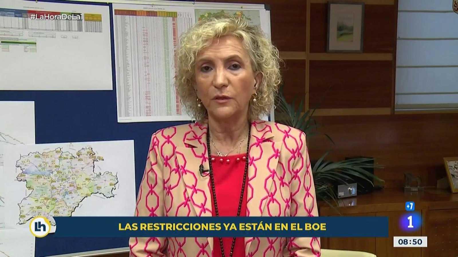"""Casado, consejera de sanidad de Castilla y León: """"Estoy estupefacta"""""""