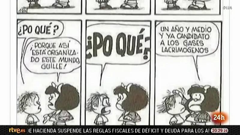 Homenaje a Quino, el creador de la eterna Mafalda