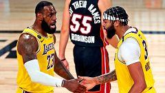 Las cinco mejores jugadas del Lakers 116-98 Heat, primer partido de la final