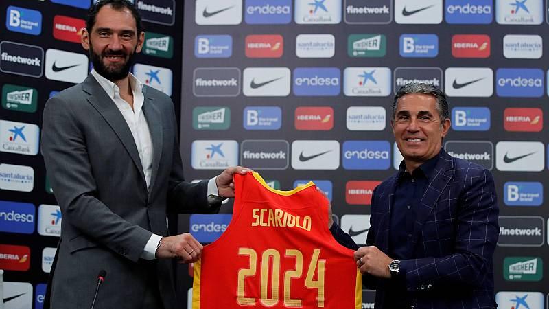 Scariolo y Mondelo renuevan con España hasta 2024