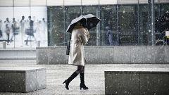 Lluvias fuertes este jueves en tercio norte y descenso térmico en el interior