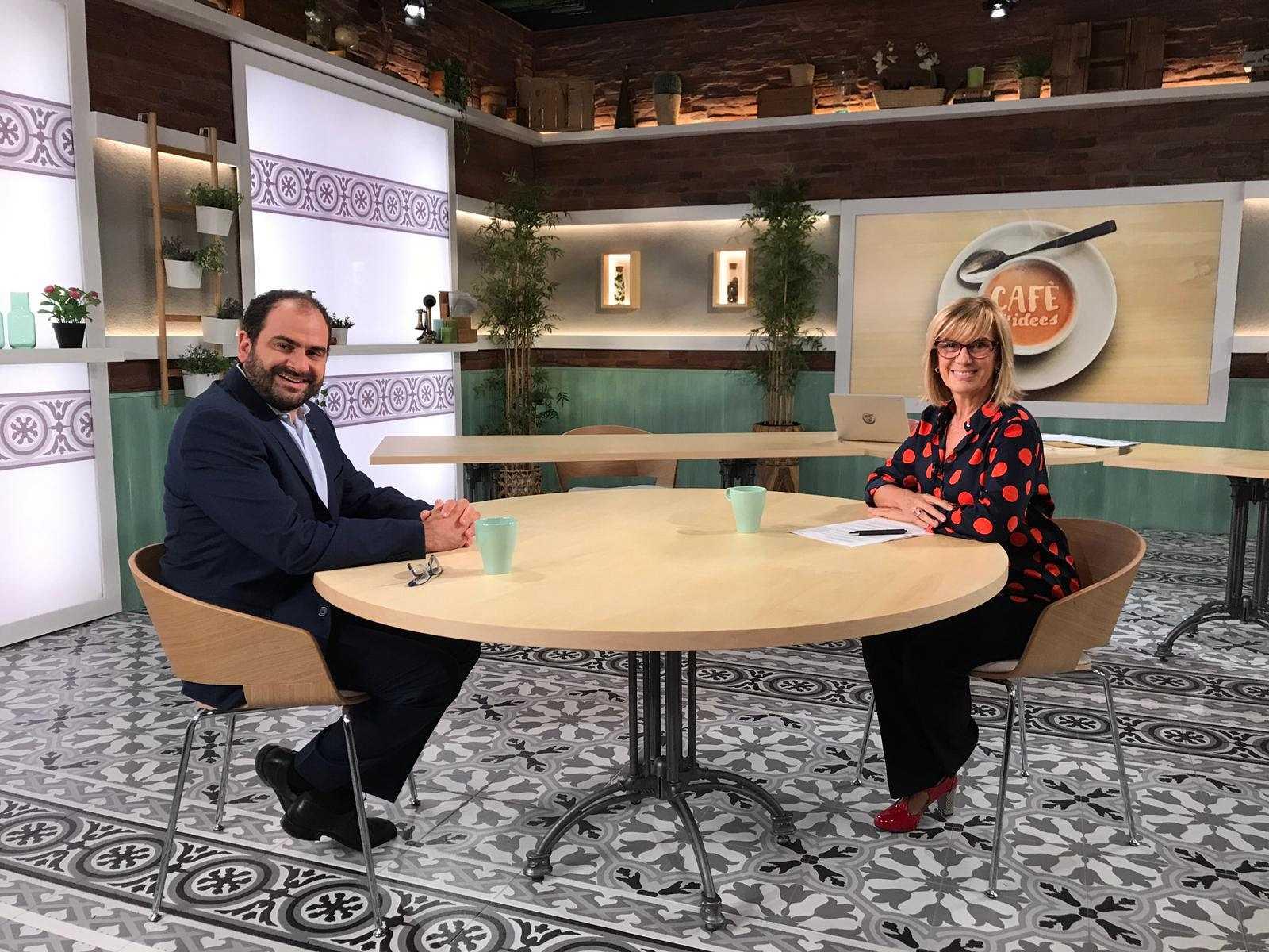 Cafè d'Idees - Entrevista a Fernando Sánchez Costa, president de Societat Civil Catalana