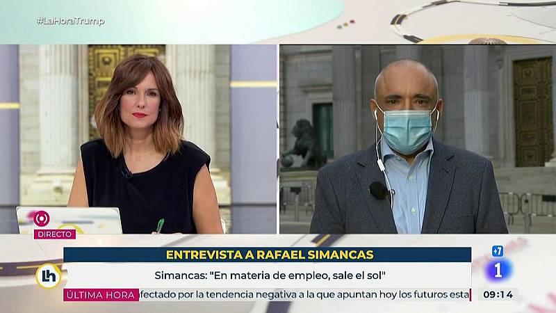 """Rafael Simancas: """"Ayuso ha decidido pelear contra el Gobierno de España en lugar de contra el virus"""""""