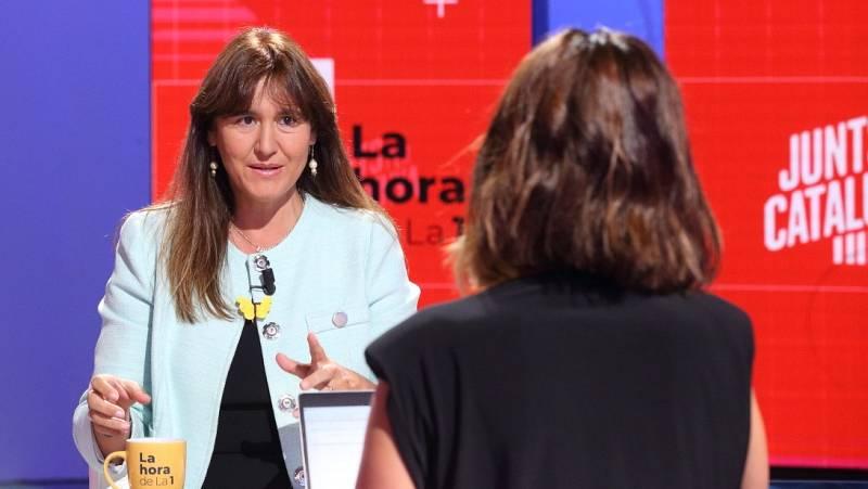 Borràs (JxCat) desconocía la fecha de las elecciones en Cataluña dada por Torrent y confirma que concurrirá