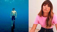 El vídeo de Miguel Bernardeau haciendo submarinismo en apnea y Aitana sufre