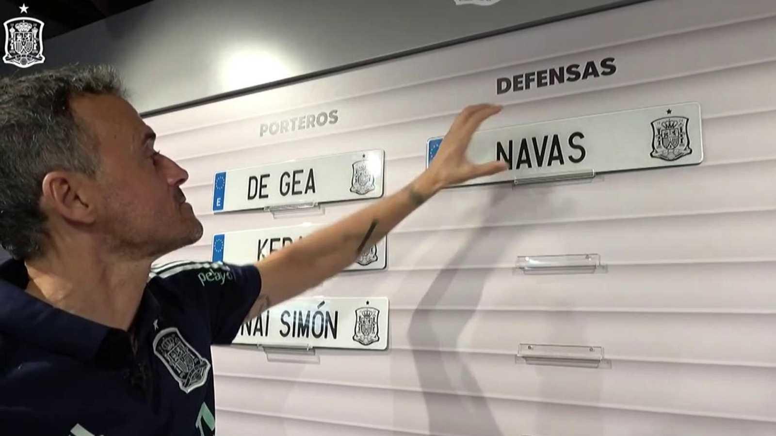 Fútbol - Presentación lista de convocados selección española y rueda de prensa Luis Enrique - ver ahora