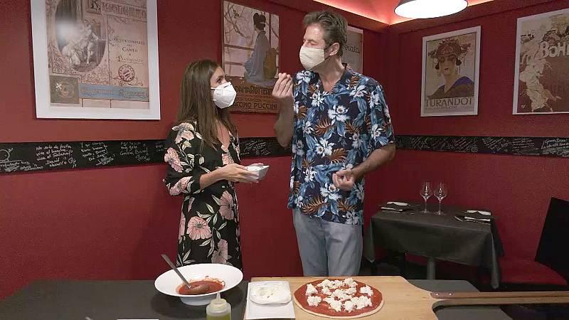 Elena Furiase nos enseña a hacer pizza Margarita