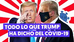 Las declaraciones más polémicas de Trump sobre el COVID-19
