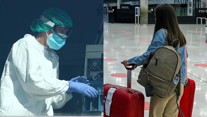 Sanidad y turismo: dos caras del mercado laboral en tiempos de coronavirus