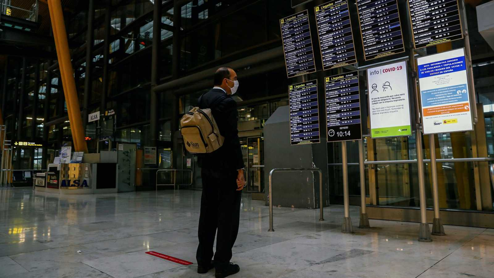 Madrid no podrá ser un lugar de destino para turistas, solo de paso