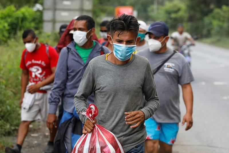 La pandemia no frena la migración de Centroamérica a Estados Unidos