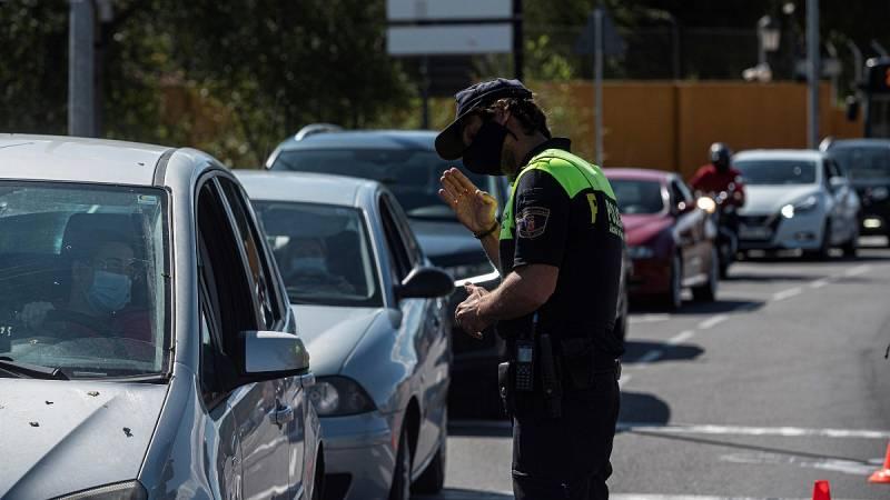 Diez muncipios madrileños viven su primer día de restricciones