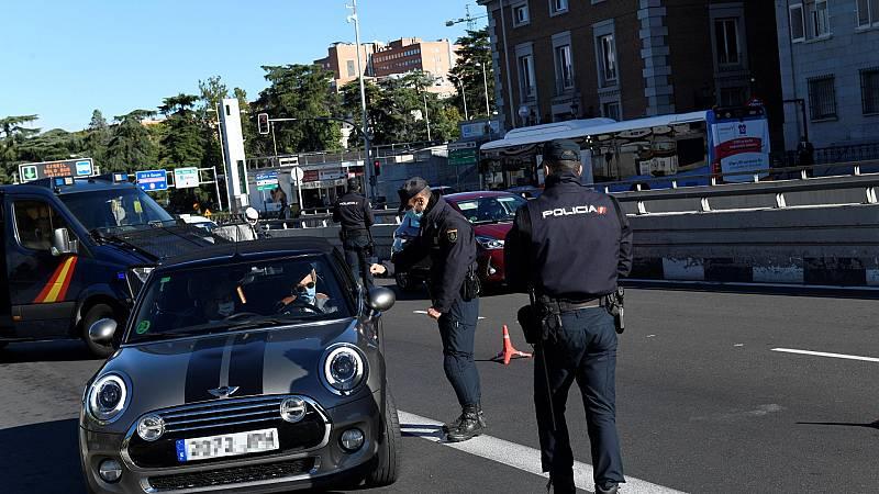 Más de mil agentes realizan controles en los municipios con restricciones de Madrid