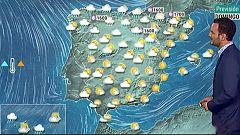 Las lluvias y el fuerte viento continuarán hoy en el litoral cantábrico