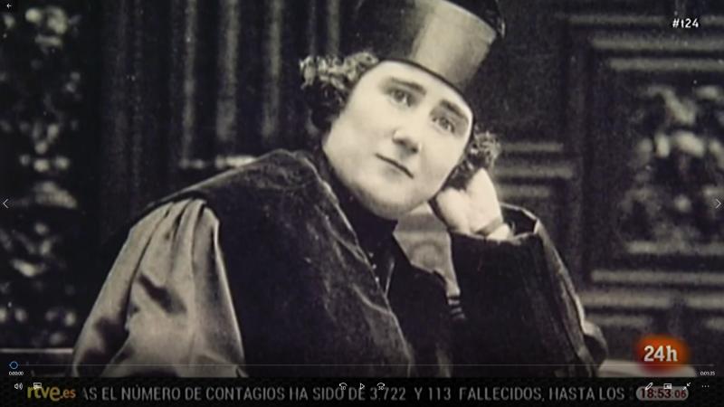 Homenaje a Clara Campoamor, campeona del voto femenino en España