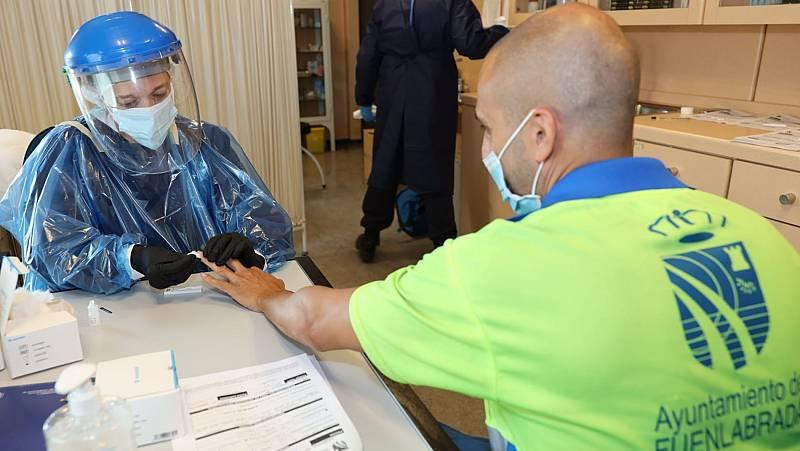 Fuenlabrada se prepara para hacer test masivos durante el confinamiento