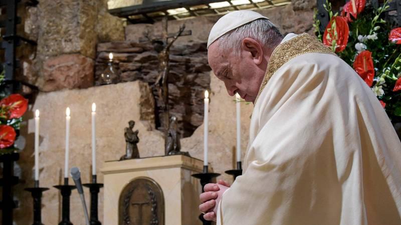 """El Papa pide que el dolor de la pandemia no sea """"inútil"""" y hace un llamamiento a la unidad"""