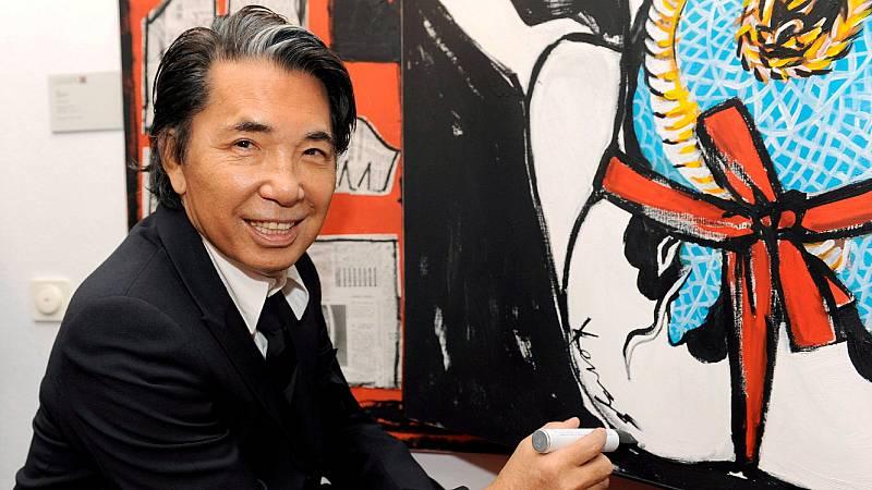Muere por coronavirus el diseñador japonés Kenzo Takada