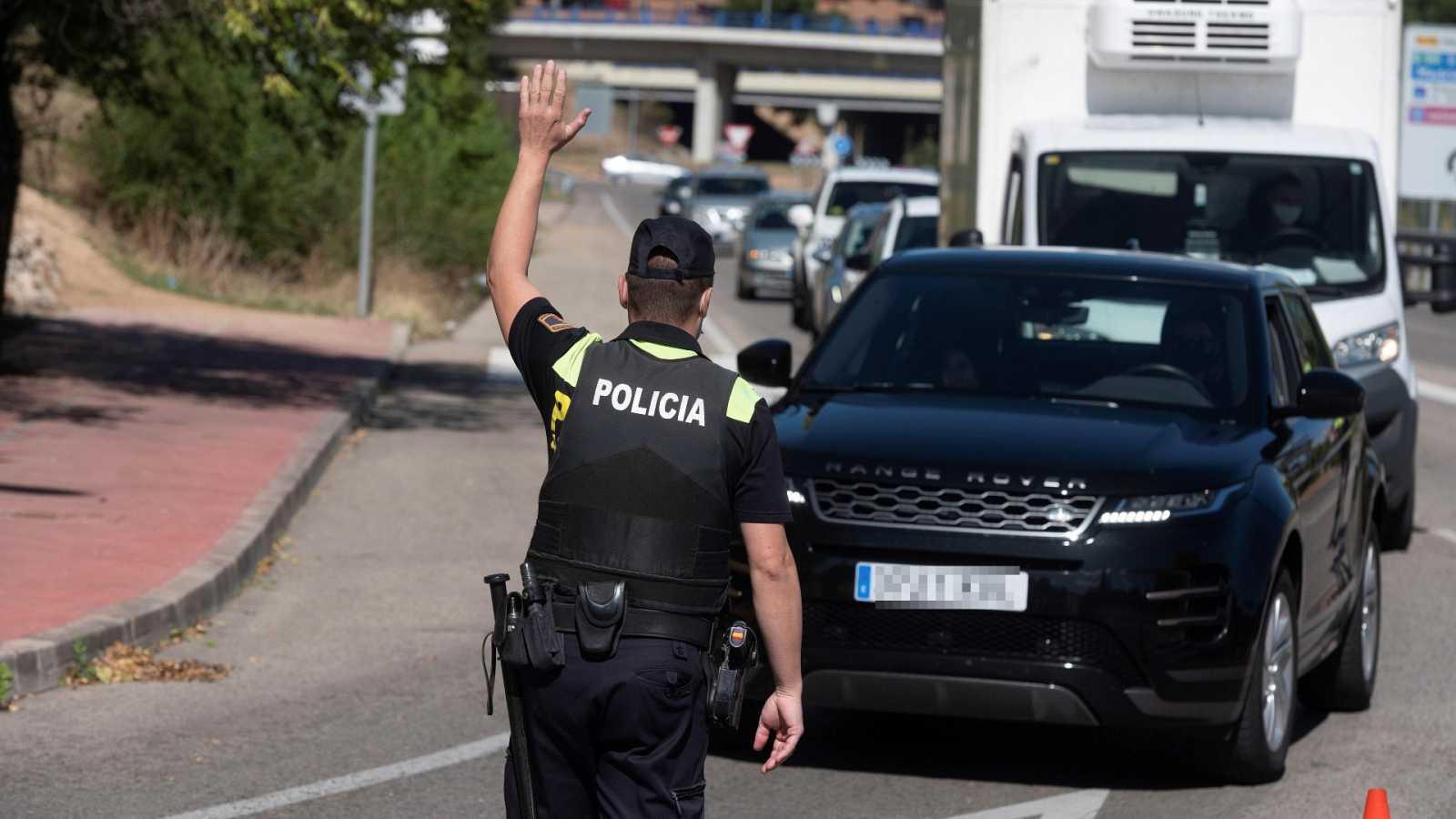 Cae la movilidad en Madrid con el inicio del confinamiento