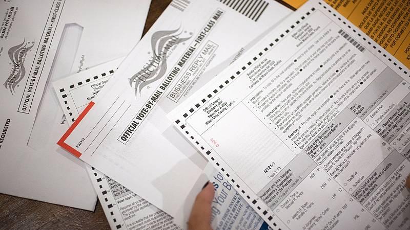 El voto por correo será decisivo en las elecciones en EE.UU.