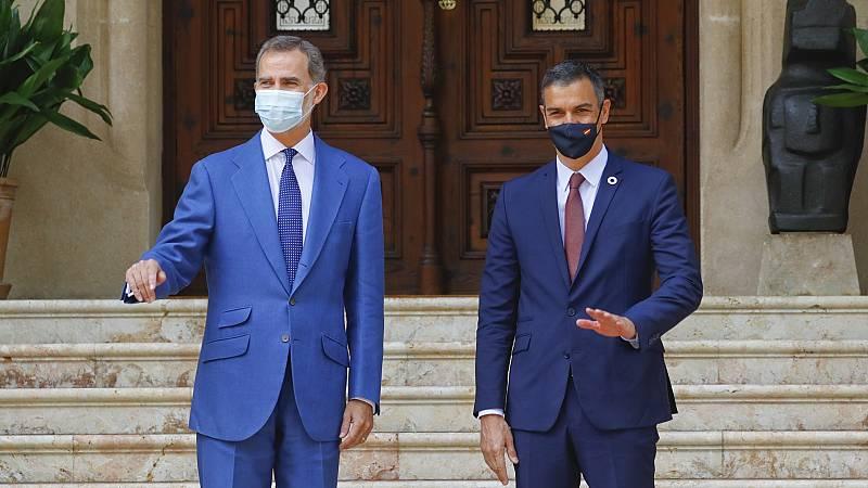 El rey Felipe VI y el presidente Sánchez asistirán juntos a un acto en Barcelona este viernes